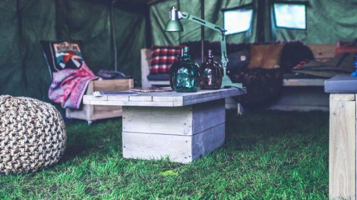 rum utomhus möbler